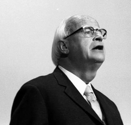 22. Bundesparteitag der CDU in Hamburg (Helmut Thielicke) 18.-20.11.1973, Bundesarchiv, B 145 Bild-F041435-0032 / Engelbert Reineke / CC-BY-SA 3.0